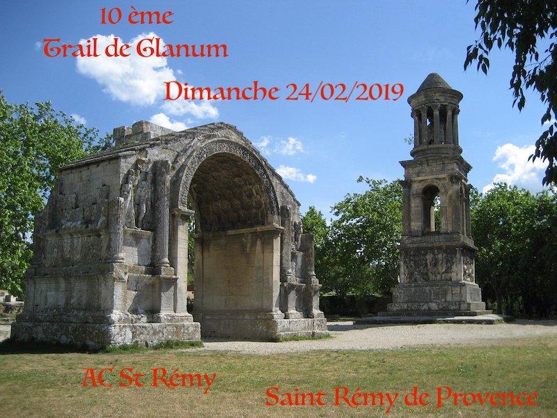 Inscriptions Trail de Glanum